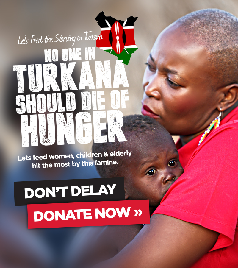 No one in Turkana Should die of Hunger